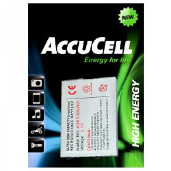 AccuCell batteri passer til E-TEN glofiish M700, X500 batteri