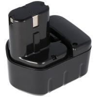 AccuCell NiMH batteri passer til Hitachi 12Volt 2.0Ah EB1220BL