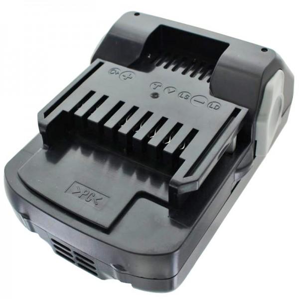 Batteri passer til Hitachi BSL 1815X, BSL 1830, BSL 1840, 330067, 330068, 330139, 330557, 1,5Ah