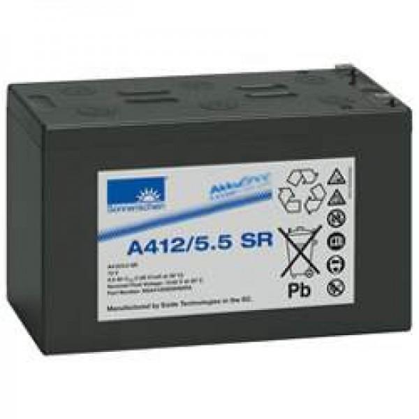 Sunshine Dryfit A412 / 5.5SR blybatteri PB 12Volt 5.5Ah