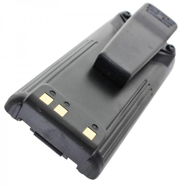 Batteri passer til ICOM IC-F3GS batteri, IC-F4GS, BP-209, BP-210