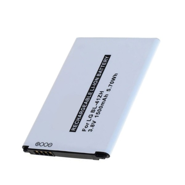 Batteri passer til LG Leon BL-41ZH 3.7 Volt 1500mAh
