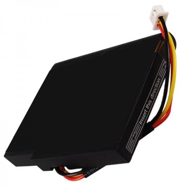 AccuCell batteri passer til TOMTOM Live 1535 batteri, VIA 135, P11P17-14-S01