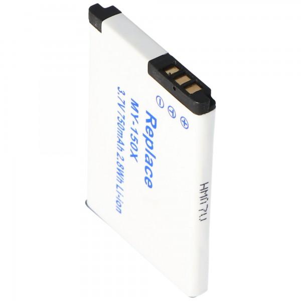 AccuCell batteri passer til Vodafone 527 battery 526, 287144366, 287079530