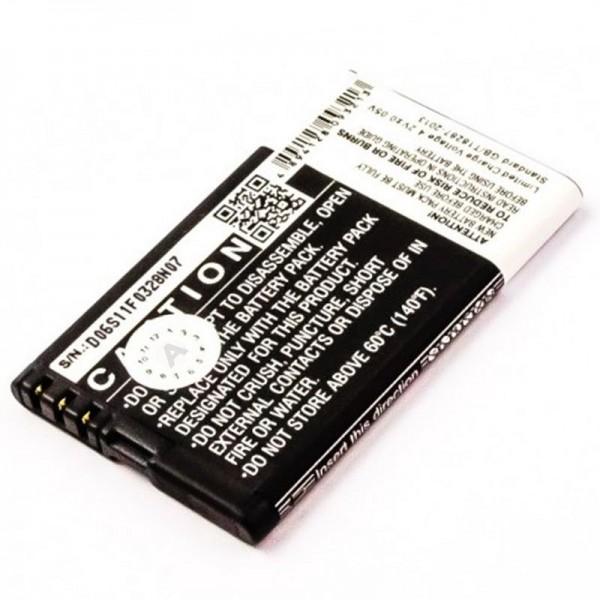 Batteri passer til mobiltelefonbatteriet Doro Primo 305 Batteri RCB305