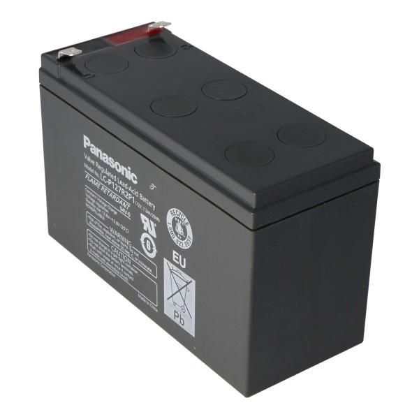 Panasonic LC-P127R2P1 PB Genopladeligt batteri 12 Volt 7.2Ah VDS G193046