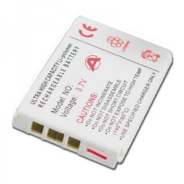 Batteri passer til Aiptek DV-6800, DV-8200, DV-8800, DZO-V38P
