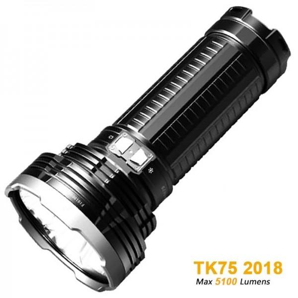 Fenix TK75 (2015) Cree XM-L2 U2 LED lommelygte med op til 4000 lumen strøm