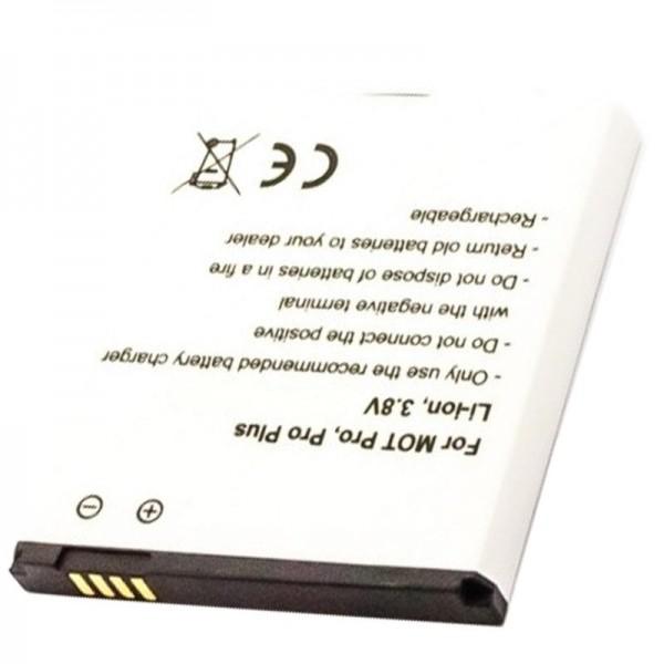 Batteri passer til Motorola HP6X Batteri Motorola Pro, Pro Plus, Pro +, XT685