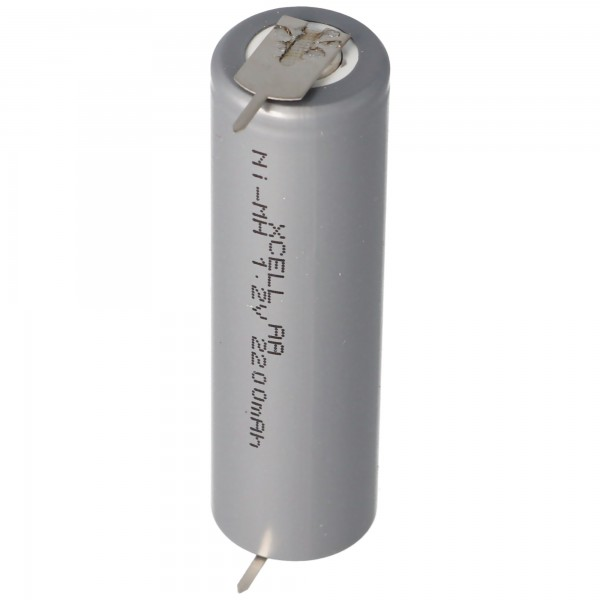 AccuCell HHR2200 Mignon AA-celle med enkeltprint 2200mAh