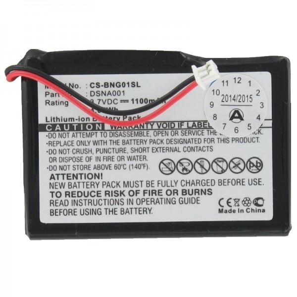 Batteri passer til Blaupunkt Travelpilot lucca 3.3 (ikke original)