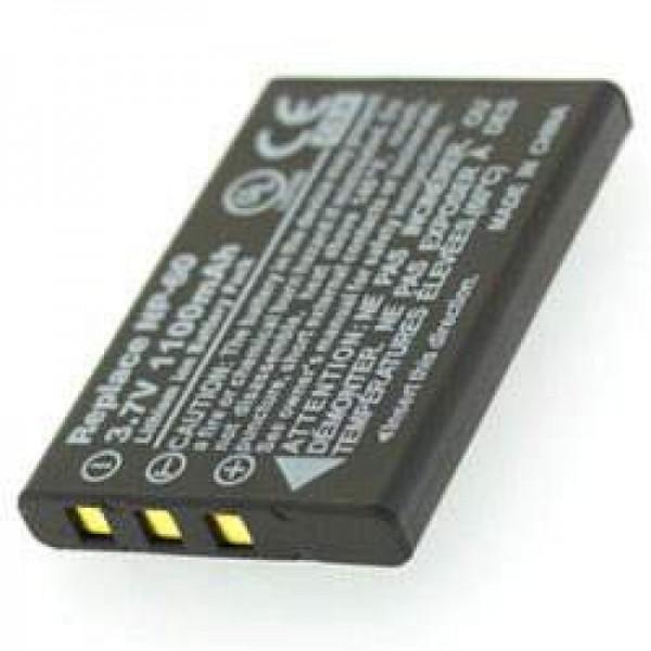 AccuCell batteri passer til batteri Somikon DV-920.HD batteri