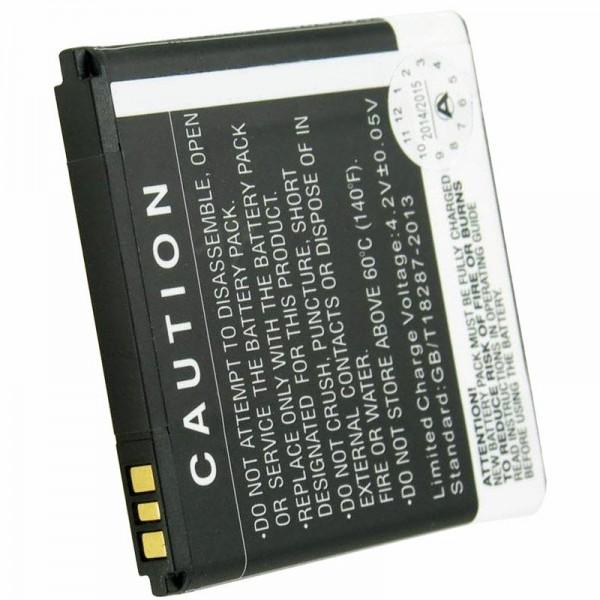 Batteri passer til Prestigio Multiphone 4322 Duo batteri PAP4322 DUO