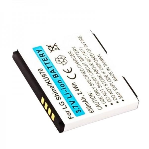 AccuCell batteri passer til LG KF750, KF755, LGIP-470A, SPPL00857
