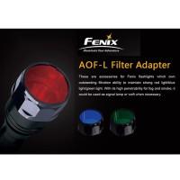 Universal Fenix Rødfilter AOF-L for Fenix E40, E50, LD41, TK22, PD40, RC20, FD41