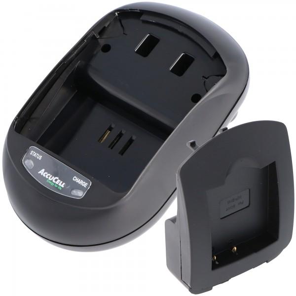 AccuCell oplader egnet til Casio NP-120 batteri, EX-S200 batteri