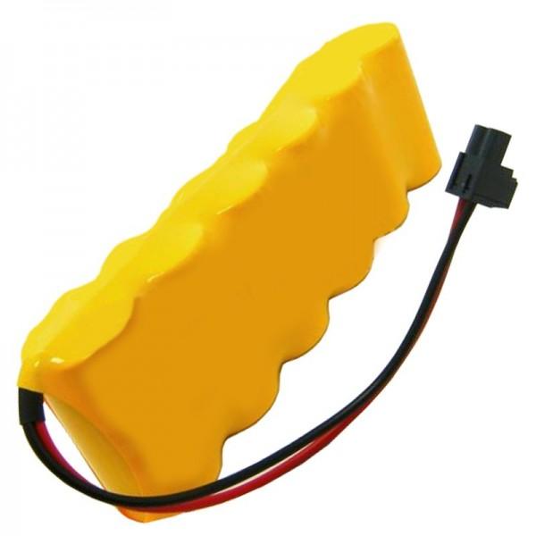 Batteri passer til ABB Robotics 4944026-4, 4944 026-4 som NiCd-replika