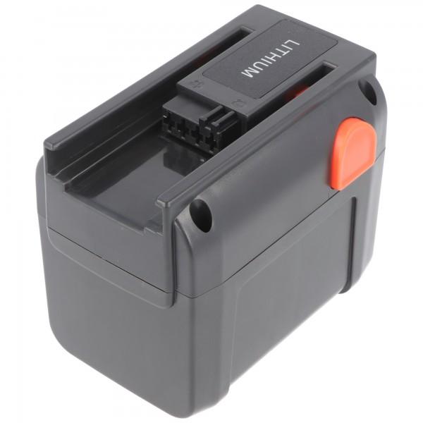 GARDENA TURBO TRIMMER 8841 Li-ion udskifteligt batteri maks. 3000mAh