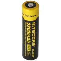 NiteCore 18650 Li-ion batteri til LED lygter NL183, CR18650