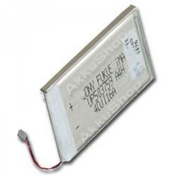 AccuCell batteri passer til Sony Clie PEG-N710C, PEG-N760C