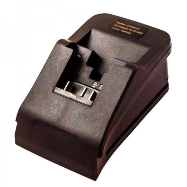 Oplader adapter egnet til Dewalt batteri Li-ion 7.2 volt til 20 volt
