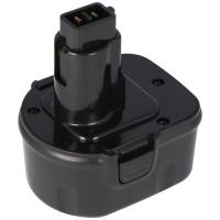 Batteri passer til Dewalt, ELU, Berner værktøjer, 12V NiMH 2.0Ah