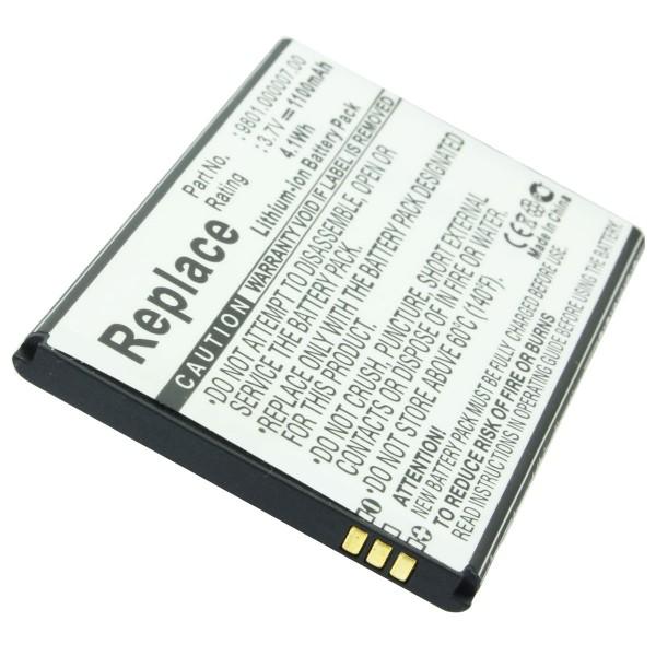 AccuCell batteri passer til Blaupunkt America batteri 9801.000007.00