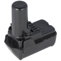 Batteri passer til Hitachi BCL1015 batteri CR 10DL, CJ 10DL 10,8 Volt Li-Ion batteri 1500mAh