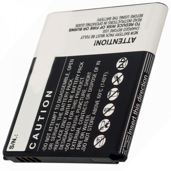 Samsung Galaxy Express 4G LTE erstatningsbatteri fra AccuCell
