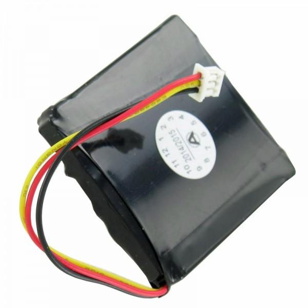 Batteri passer til TOMTOM 1EX00 batteri, START2, START, NEM, 4EX0.001.11