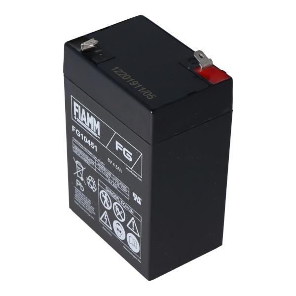 6 Volt batteri til Peg Perego køretøjer 6 Volt 4500mAh uden kabel