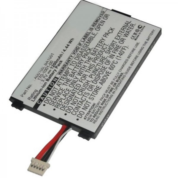 Batteri passer til Amazon Kindle D00111, batteri 170-1001-00, BA1001 batteri
