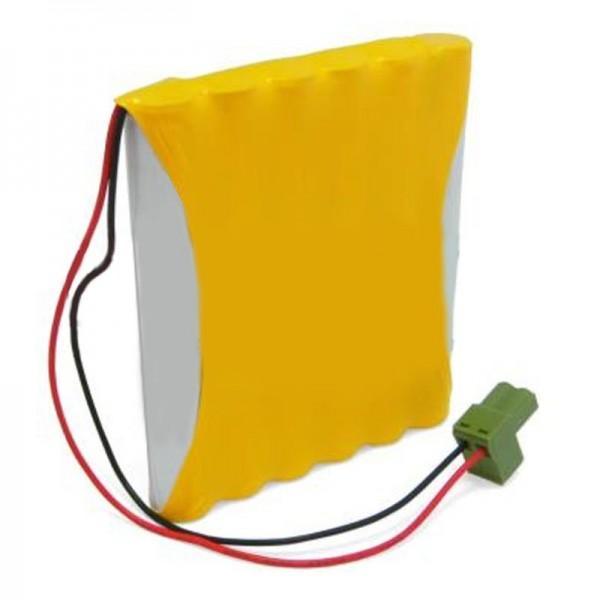Udskiftning batteri passer til Gezi automatisk dør 14.4V NiCD AkkuPack