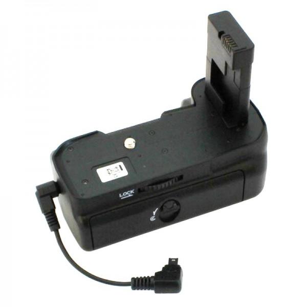 Batteri greb passer til Nikon D3100, D3200, betjening med 2 batterier type EN-EL14