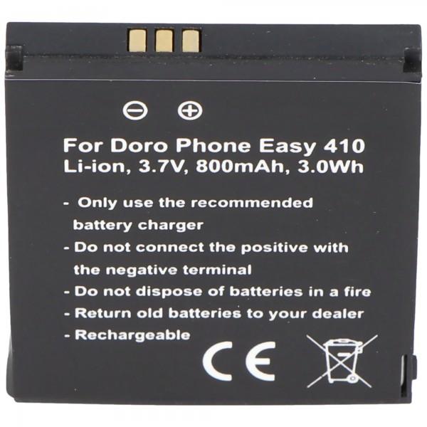 Doro PhoneEasy 410 Batteri SHELL01A Batteri Care Clamshell