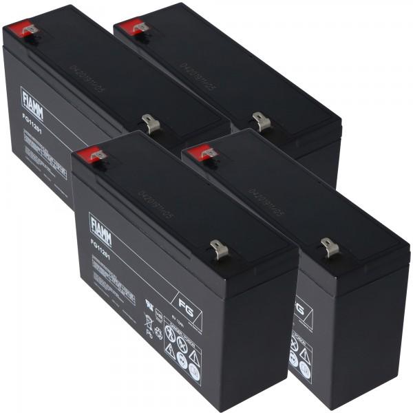 Blybatteri passer til Völker patient seng S960-2W batteri 24 Volt