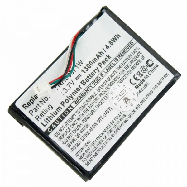 Navigon 8110 batteri, 81xx, 8310 som et replikabatteri fra AccuCell