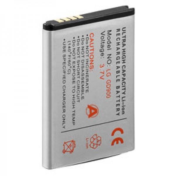 AccuCell batteri passer til LG BL40 newchocolate, GD900, SBPL0099