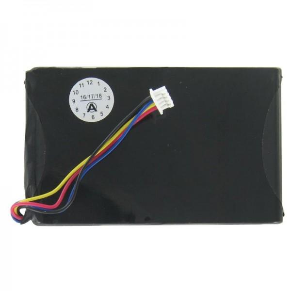 Magellan Maestro 4300, 4350, 4370 replika batteri 60.14G0T.001, SMPWGPS1, 1500mAh