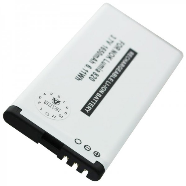 BP-4W replik batteri passer til Nokia Lumia 810, 822 batteri