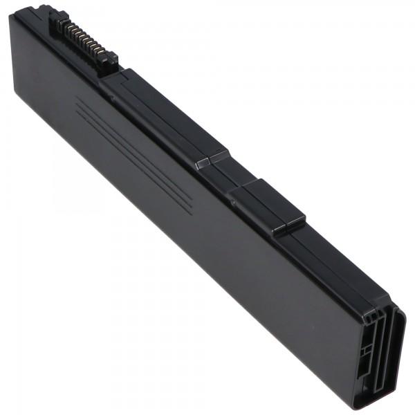 Batteri passer til TOSHIBA PA3788U-1BRS, PABAS221, PABAS223, 10,8 Volt 4400mAh