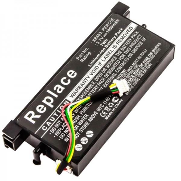 DELL POWEREDGE PERC5E Batteribackup som et replikabatteri fra AccuCell