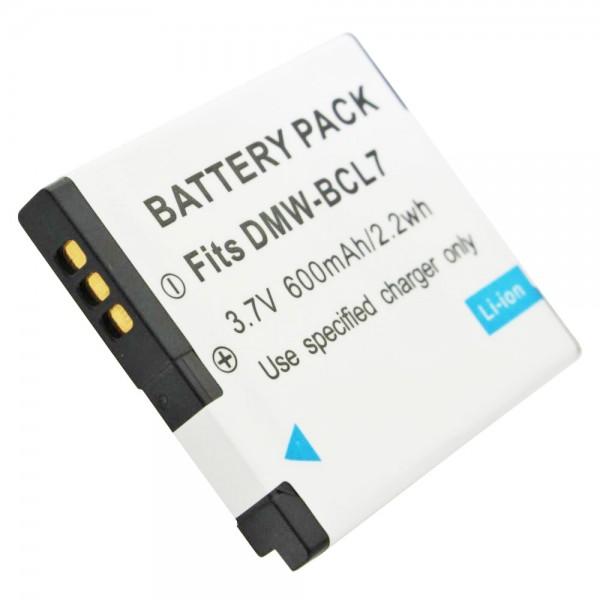 DMW-BCL7E kvalitetsbatteri fra AccuCell passer til Panasonic