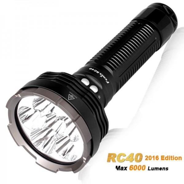 Fenix RC40 Cree XM-L2 U2 LED lommelygte med 6000 lumen, genopladelig