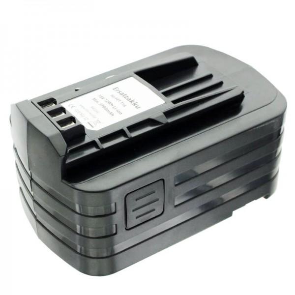 Batteri Imitation egnet til Festo BPC18 batteri 498343, 499849 med 4000mAh