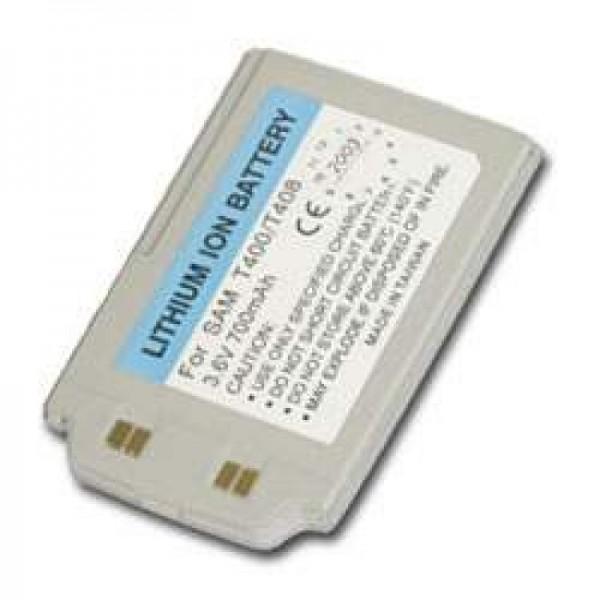 AccuCell batteri passer til Samsung SGH-T400, SGH-T408, 700mAh