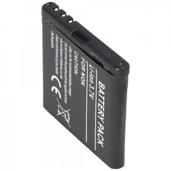 AccuCell batteri passer til Nokia 5700, BP-5M