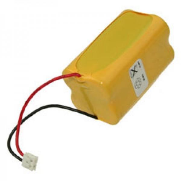 AccuCell NiMH batteri passer til ANSMANN MC2 4,8 Volt 1600mAh