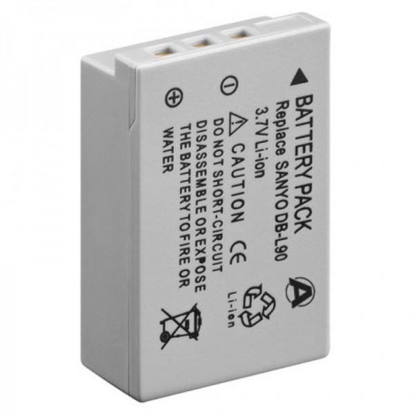 Batteri passer til SANYO DB-L90 batteri, VPC-SH1 serien