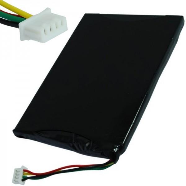 AccuCell batteri passer til Navigon 7210, 7310, BI-GC411-1K6KAY